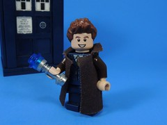 10th Doctor Update (MrKjito) Tags: lego minifig doctor who custom 10th bbc david tennant sonic screwdriver tardis time space travel scifi