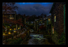 Ambleside (Kevin, from Manchester) Tags: canon1100d canon1855mm countryside cumbria england hdr lakedistrict landscape sky ambleside westmorland town river skyline clouds