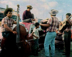 Mexican Mariachi Band (~ Lone Wadi ~) Tags: mexican mariachiband singers musicians outdoors entertainers latino hispanic retro 1970s candid