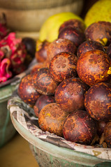 mangosteen for sale (Sam Scholes) Tags: mangosteen shopping bedugul market vacation indonesia bali travel baturiti id