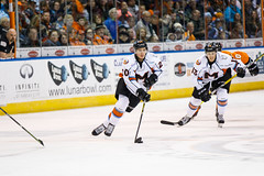 "Missouri Mavericks vs. Quad City Mallards, December 31, 2016, Silverstein Eye Centers Arena, Independence, Missouri.  Photo: John Howe / Howe Creative Photography • <a style=""font-size:0.8em;"" href=""http://www.flickr.com/photos/134016632@N02/31972629391/"" target=""_blank"">View on Flickr</a>"