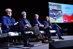 "AMERICAN EXPERIENCE ""Oklahoma City"" and ""Ruby Ridge"" (PBS PressRoom) Tags: randyweaver americanexperience rubyridge barakgoodman presstour pasadena pbs oklahomacity marksamels markpotok billmorlin militia tca"