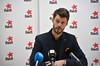 Bjørnar Moxnes under pressekonferanse om Veireno-saken (rødt.no) Tags: bjørnarmoxnes rødtleder rødt rødtoslo søppelkaos søppelkaoset oslo veirenosaken veireno