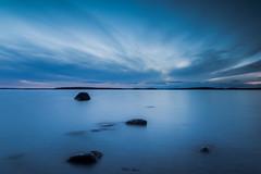 Blue Hour? (mathiasboman) Tags: landscapeimages shoreline sverige landscape sunset tokanäset nordic outdoor canon clouds longexposure vättern östergötland seascape canon6d landscapephoto waterscape sweden