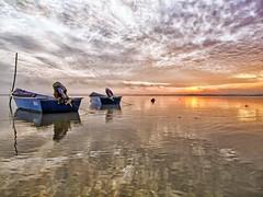 IMG_7396 ~ beautiful jubakar (alongbc) Tags: jubakar jubakarpantai tumpat kelantan malaysia travel places trip sunrise morning boat fishingboats fishingvillage sea clouds sky canon eos700d canoneos700d canonlens 10mm18mm wideangle