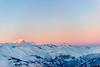 Last light for the Mont Blanc (rem1nc) Tags: rose france savoie bleue ciel frenchalpes paysages ski lights blue sunset landscape light snow pink hiver montblanc sky couchédesoleil lumière winter alpes neige