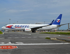 OK-TVM, Boeing 737-8FN(WL), 37077/3163, Travel Service, CDG/LFPG, 2016-05-21, Alpha Loop taxiway (alaindurandpatrick) Tags: oktvm 370773163 737 738 737ng 737800 boeing boeing737 boeing737ng boeing737800 jetliners airliners qr travelservice airlines cdg lfpg parisroissycdg airports aviationphotography