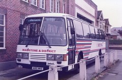 Summer Visitor (reynardbizzar) Tags: maidstone district duple leyland tiger southern vectis shanklin isle wight 1984 carter avenue nbc national bus company