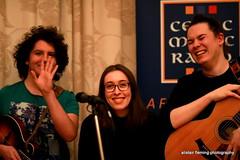 IMG_0184 QUICK (marinbiker 1961) Tags: quick alex emily willem livemusic guitar mandolin glasgow 2017 glasses male female groupshot people indoor