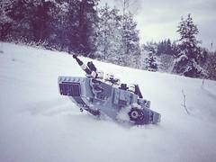First Order snow speeder on a patrol (krocans) Tags: starwarslego lego latlug starwars