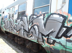 068 (en-ri) Tags: tom train writing graffiti grigio mr nero alessandria novi ligure