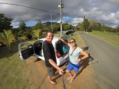 Photo de 14h - Sur la route de Bourail (Nouvelle-Calédonie) - 04.06.2014