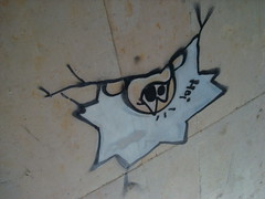 2008 (bdungeon76) Tags: hello roof graffiti head painted smily