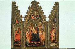 Enthroned Madonna and Child with Saints (Ackland Art Museum, Chapel Hill, NC)