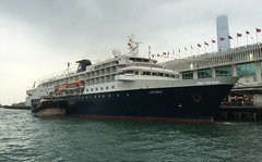 Hong Kong Ocean Terminal - Minerva (clarkson_lee) Tags: cruise hongkong shipping minerva liner oceanterminal