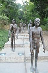Memorial to the victims of communism in Prague, Czech Republic (iliya.hazan) Tags: prague czech history culture park memorial memory plants nature trees europe summer victims communism steps