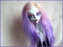wig alpaga teint photo ralis par elfe de lune (DollyArt Pays Des Merveilles) Tags: monster high wig pullip fc alpaga