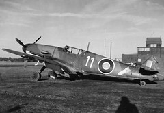 "Messerschmitt Bf109 in RAF Service • <a style=""font-size:0.8em;"" href=""http://www.flickr.com/photos/81723459@N04/18948493881/"" target=""_blank"">View on Flickr</a>"