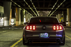 Riley's Mustang (CullenCheung) Tags: ford f14 mustang kw v6 borla aeroflow forgestar