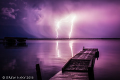 Sky Fork (mdrew70) Tags: sky canada clouds canon skyscape lakes alberta lightning peir lacstanne lacstannecounty
