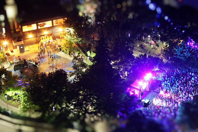 Summer Dance Party in Miniature Park