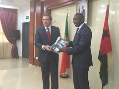 Pedro Passos Coelho na Guiné Bissau