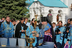 64. The blessing of water on the day of the Svyatogorsk icon of the Mother of God / Водосвятный молебен в день празднования Святогорской иконы Божией Матери