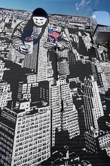 American Dream by ICY & SOT NYC (ZUCCONY) Tags: street nyc newyorkcity streetart newyork art love geotagged graffiti calle arte unitedstates bobby rue welling 2015 zucco wellingcourtmuralproject bobbyzucco pedrozucco