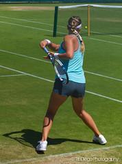 Victoria Azarenka   TrinDiego (TrinDiego) Tags: green london turquoise lawn victoria womens monaco tennis practice belarus wimbledon headphone beats 2015 azarenka victoriaazarenka trindiego