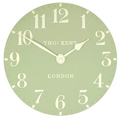 Thomas Kent Arabic Clock Greengage - 12 inch (http://bestwallclocksusa.com Wall Clocks For Sale) Tags: clock kent inch thomas arabic greengage