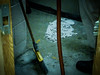 Asbestos Abatement Inspection: NO DRY SWEEPING! (Asbestorama) Tags: asbestos acm survey hazard ih safety inspection busted caught broom sweep debris dry abatement removal fireproofing