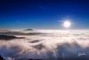 Sea of Clouds (Riccardo Maria Mantero) Tags: clouds mantero riccardomantero riccardomariamantero storm blue fog landscape outdoors sky sun