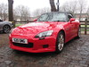 Honda S2000 S20OMG (Andrew 2.8i) Tags: queen queens classics cars square bristol classic car meet show breakfast club all types transport youngtimer oldtimer red redcar honda s2000 s 2000 japanese sportscar sports open roadster convertible cabriolet