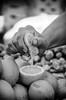 freshly squeezed (vikkiq) Tags: boston newenglandphotoworkshops lemon squeeze hand market haymarket fruit