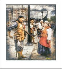 PIRATES (Derek Hyamson (5 Million views)) Tags: pirates liverpool hdr canningdock waterfront