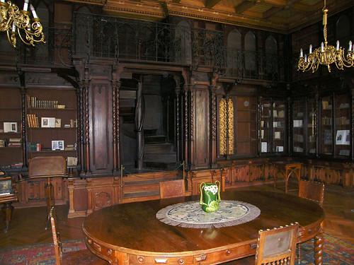 Nádasdladány, Könyvtárszoba