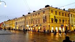Helsinki today (sakarip) Tags: sakarip helsinki building street city december finland phonephoto mobile yellow aleksi aleksanterinkatu