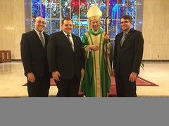 Senior seminarians with Bishop Persico -  November 2015