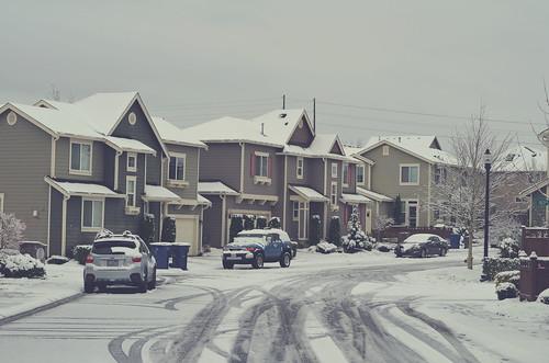 Season's first snow at WA 2016