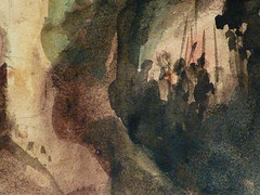 DELACROIX Eugène,1826 - Le Christ au Jardin des Oliviers, Eglise St-Paul-St-Louis, Paris, Etude (drawing, dessin, disegno-Louvre RF23325) - Detail 53 (L'art au présent) Tags: drawing dessins dessin disegno personnage figure figures people personnes art painter peintre details détail détails detalles 19th 19e dessins19e 19thcenturydrawing 19thcentury detailsofdrawing detailsofdrawingdessins croquis étude study sketch sketches tableaux louvre museum eugènedelacroix eugène delacroix france lechristaujardindesoliviers christinthegardenofgethsemane gardenofgethsemane christ jardindesoliviers aquarelle watercour watercolor man men homme romantic romantique romantisme romanticism romance armes weapons soldats soldiers rocher rock nuit night ombre shaddow paris