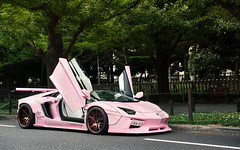 Because Japan. (Alex Penfold) Tags: lamborghini liberty walk aventador pink lambo supercars supercar super car cars autos alex penfold