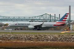 N189AN (thokaty) Tags: kbos bostonloganairport americanairlines boeing b757 b752 b757200 b757223 n189an eis2001 mia