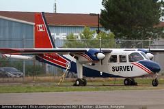 C-GSGX   BN.2B-21 Islander   Sander Geophysics (james.ronayne) Tags: aeroplane airplane plane aircraft aviation flight canon 70d raw stunning sharp gorgeous beautiful 100400mm cgsgx bn2b21 islander sander geophysics survey boom modified