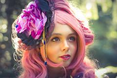 Megurine Luka (Fotografreek) Tags: megurine luka manga girl beautifull beauty model elfia elfia2016 elfiaarcen pink flower hair fantasy cosplay cosplayer