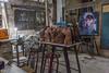 art studio leo escultor neptuno street havana cuba 06 (Eva Blue) Tags: leo escultor yimi yimilaolaidrai painter artgallery studio artstudio neptuno havana cuba evablue habana