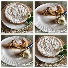 Semplicemente torta di mele #lacasettadicioccolato #dolcezze (Antonella Degrassi) Tags: lacasettadicioccolato dolcezze