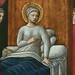 GIOVANNI FRANCESCO DA RIMINI (Attribué),1440-50 - Vie de la Vierge, La Naissance de la Vierge (Louvre) - Detail 54