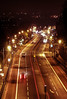 Archway Road (mh218) Tags: a1 archway archwayroad car light lights night red road roads traffic transport