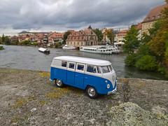 on the road // Bamberg (www.arternative-design.com) Tags: bamberg natur modellauto model modell vw vwt1bulli vwt1 toy volkswagen sightseeing travel traveler roadtrip