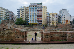 Thessaloniki, Greece (DannyBoy_28) Tags: colour color colorstreetphotography streetphotography street streetphotographyeurope streetphotographygreece greece greek thessaloniki ancienttimes oldandnew romanruins minimalism nikon nikond7000 nikorr1855 travel travelphotography colorfulbuildings abhishekdani